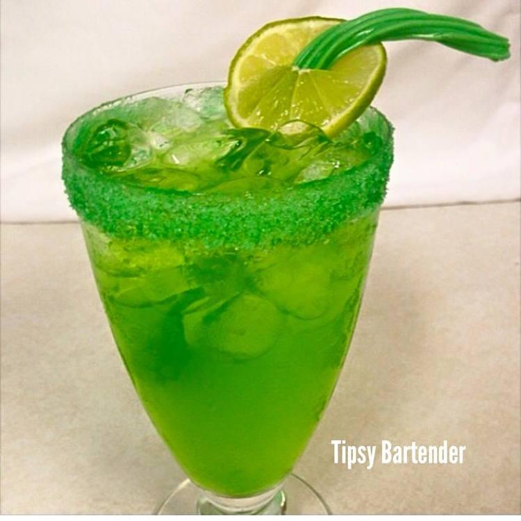 Tropical Hulk Cocktail