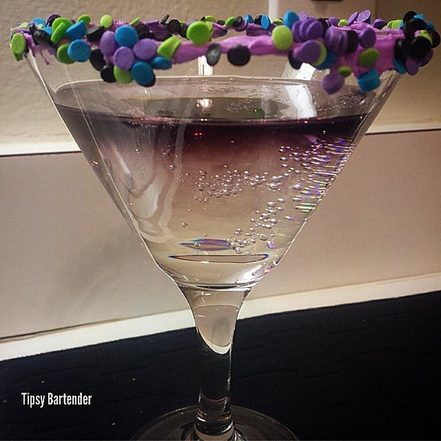 AMETHYST CAKE Cocktail