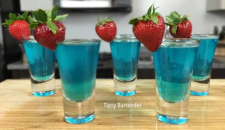 BLUE BALLS SHOT