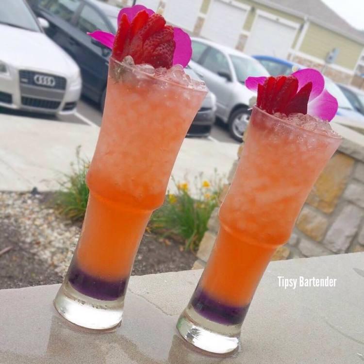 BLUSHING DRAGON Cocktail