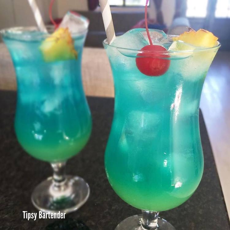 ELECTRIC SMURF Cocktail
