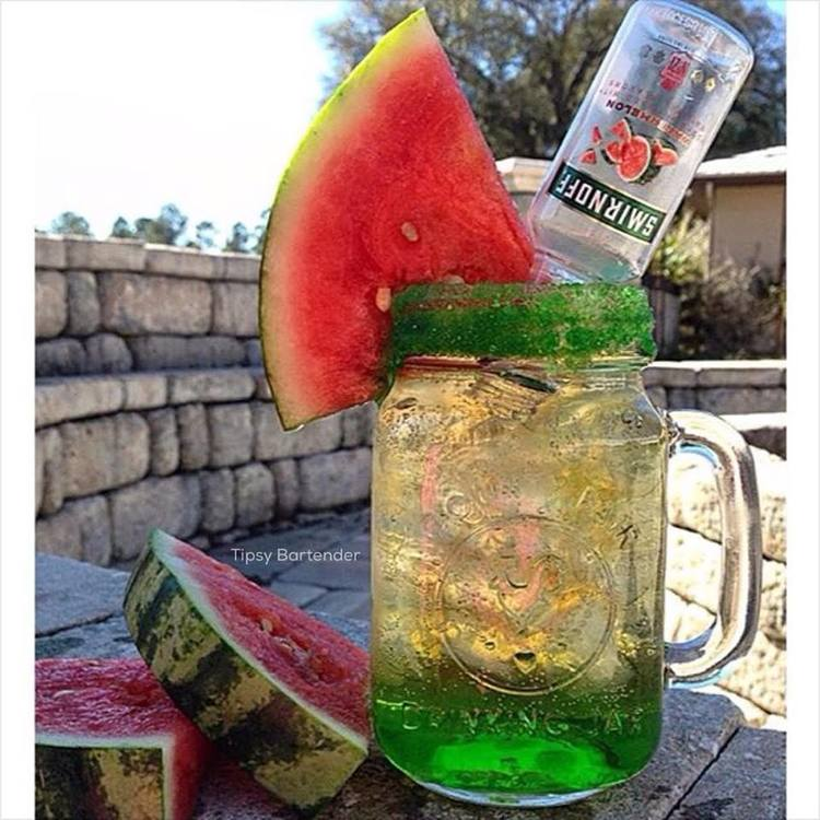 Exotic Melon Delight Cocktail