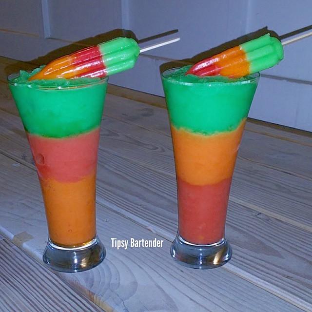 Frozen Hawaiian Punch Cocktail