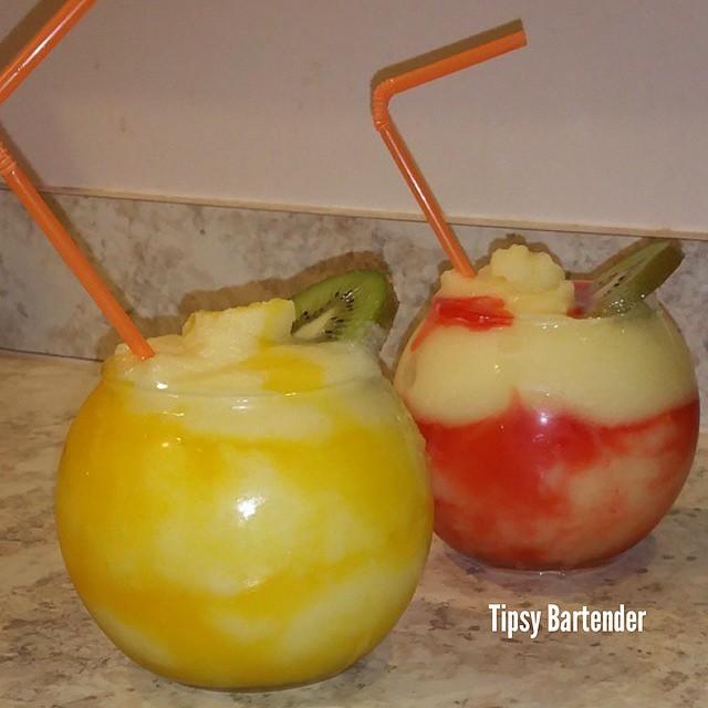Fruit Passion Bowl Cocktail