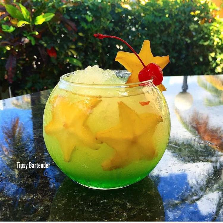 Melon Star Cocktail