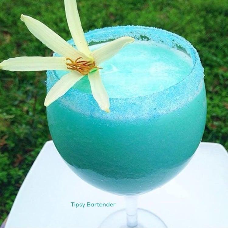 Monday Blues Cocktail