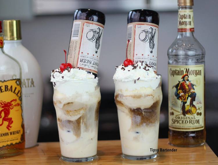 Not Your Fathers Root Beer Float