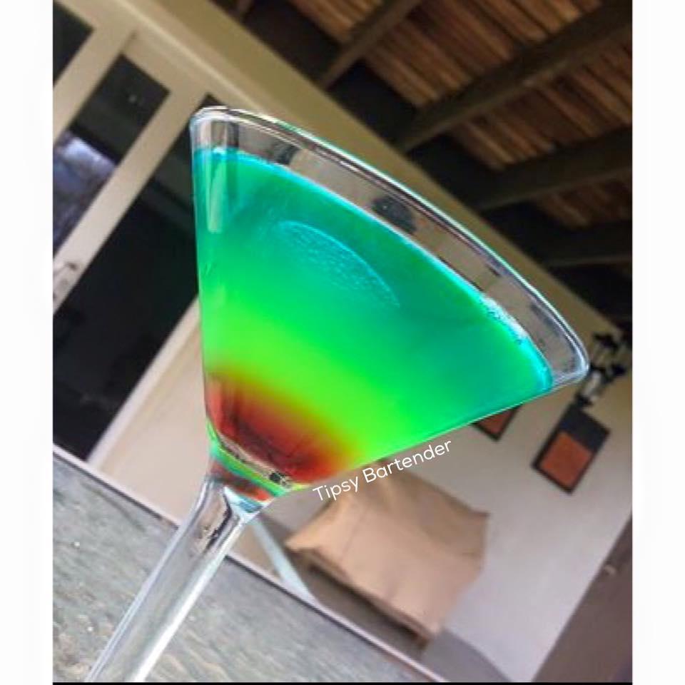 Nuclear Rainbow Cocktail
