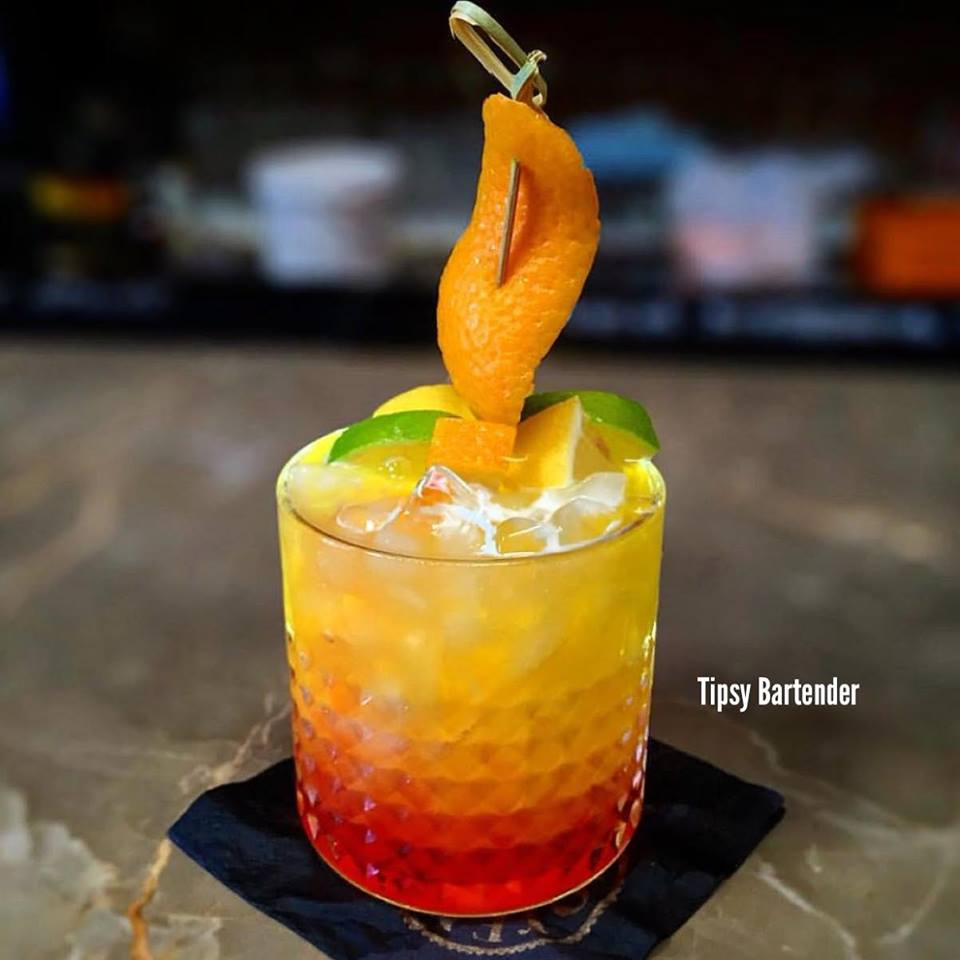 Orange Tower Cocktail