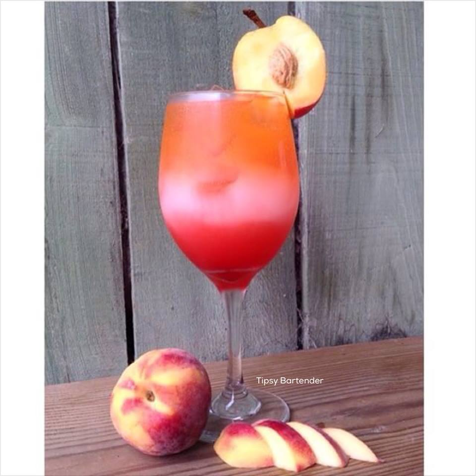 Peach Party Cocktail
