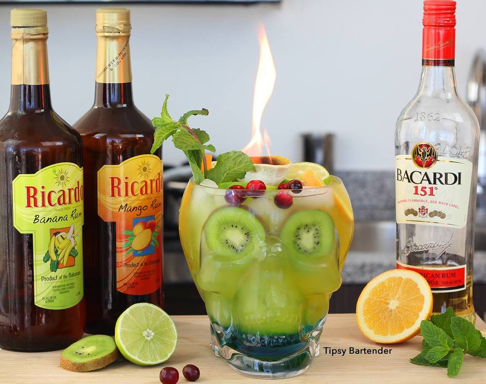 Skull Island Cocktail