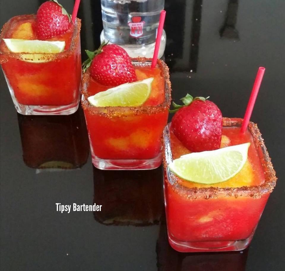 Sorbet Strawberry Mango Margarita