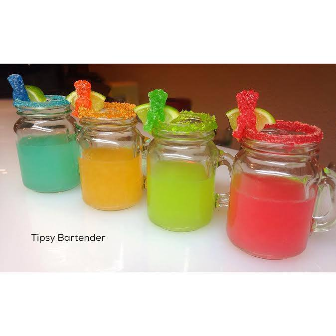 Sour Patch Tequila Shots