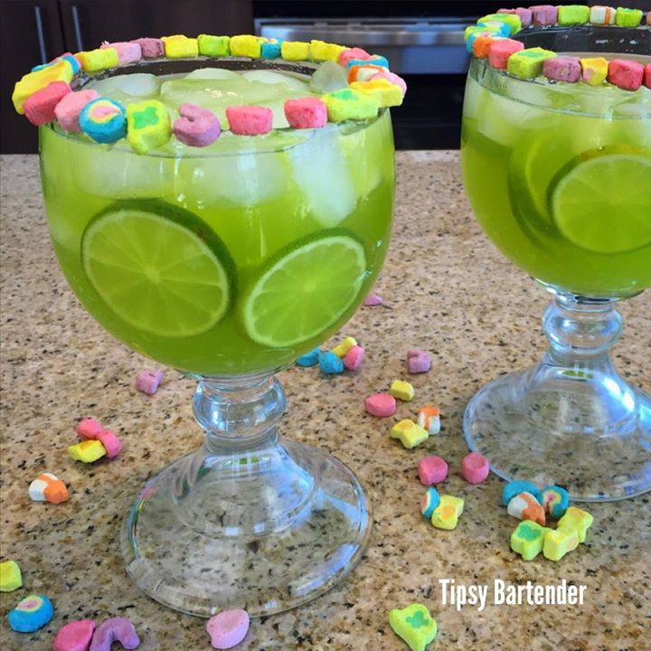 St. Patrick's Day Mexican Leprechaun Margarita