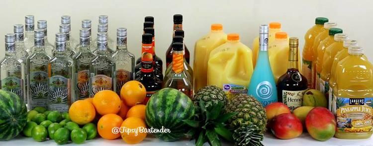 Super Bowl Jungle Juice – Top Shelf Pours