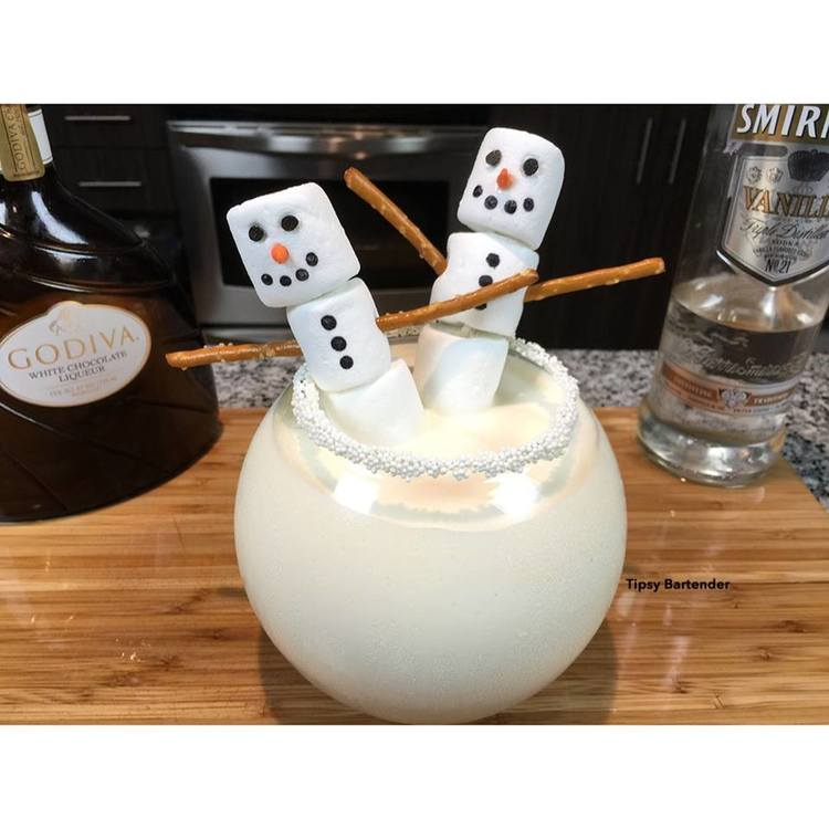 The Snowman Cocktail