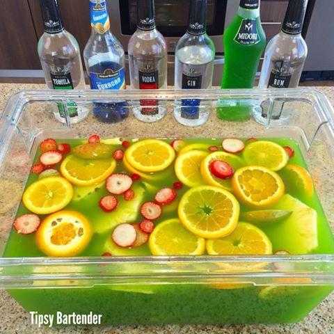 8-St Patricks Day Jungle Juice