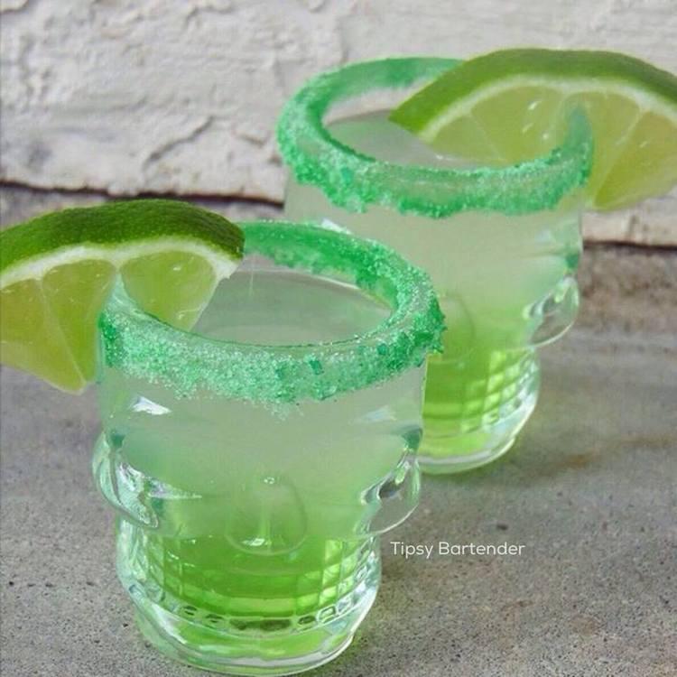 Green Apple Te-Kill-Ya Shots