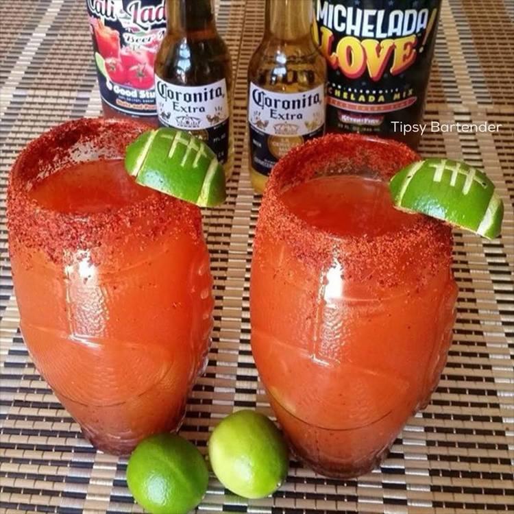 Micheladas Superbowl Cocktail