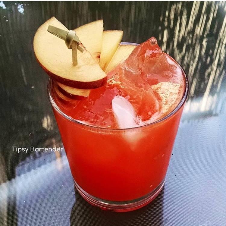 Sunset Solero Cocktail
