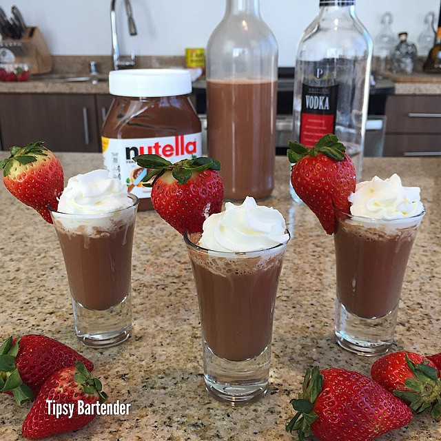 Creamy Nutella Vodka