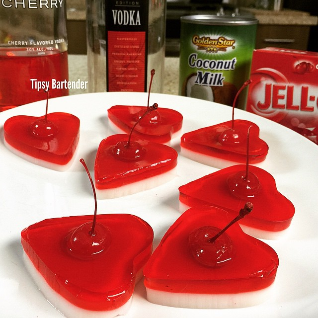 Valentine's Day Jello Shot