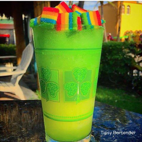 Xtreme Irish Rainbow Cocktail