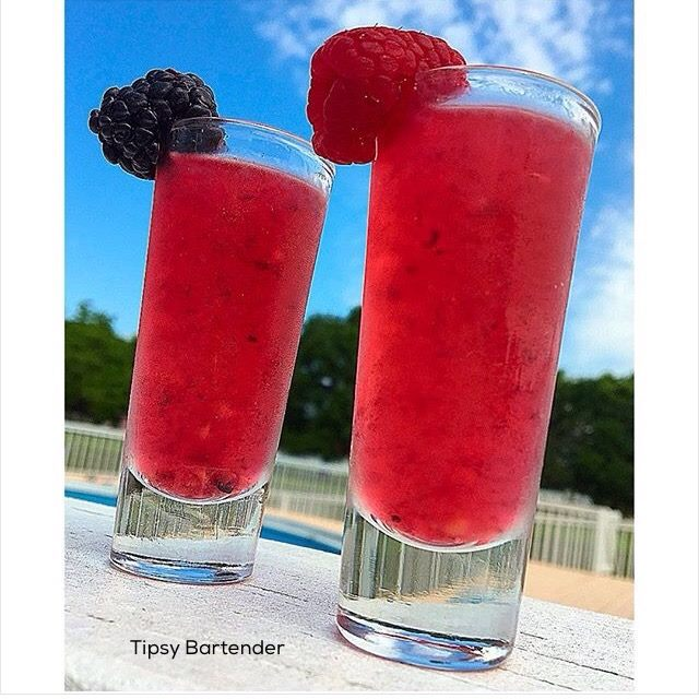 Berry Delicious Tequila Shots