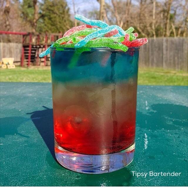 Rainbow Strings Cocktail