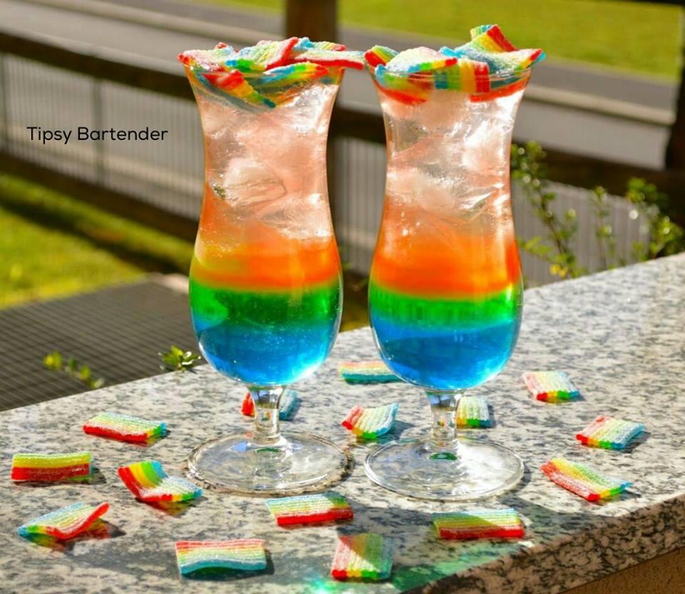 The Haribo Miami Frizz Cocktail