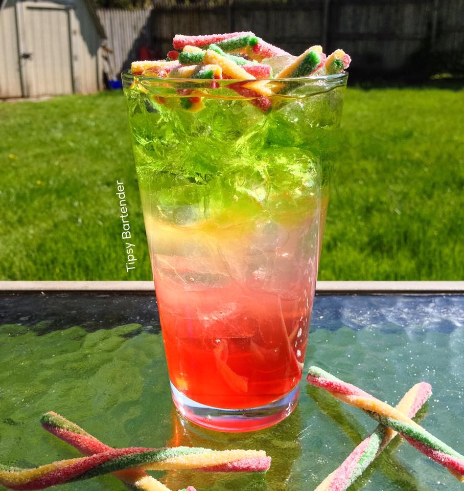 3 Color Cycle Cocktail