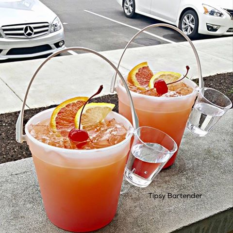 Beach Side Punch Cocktail