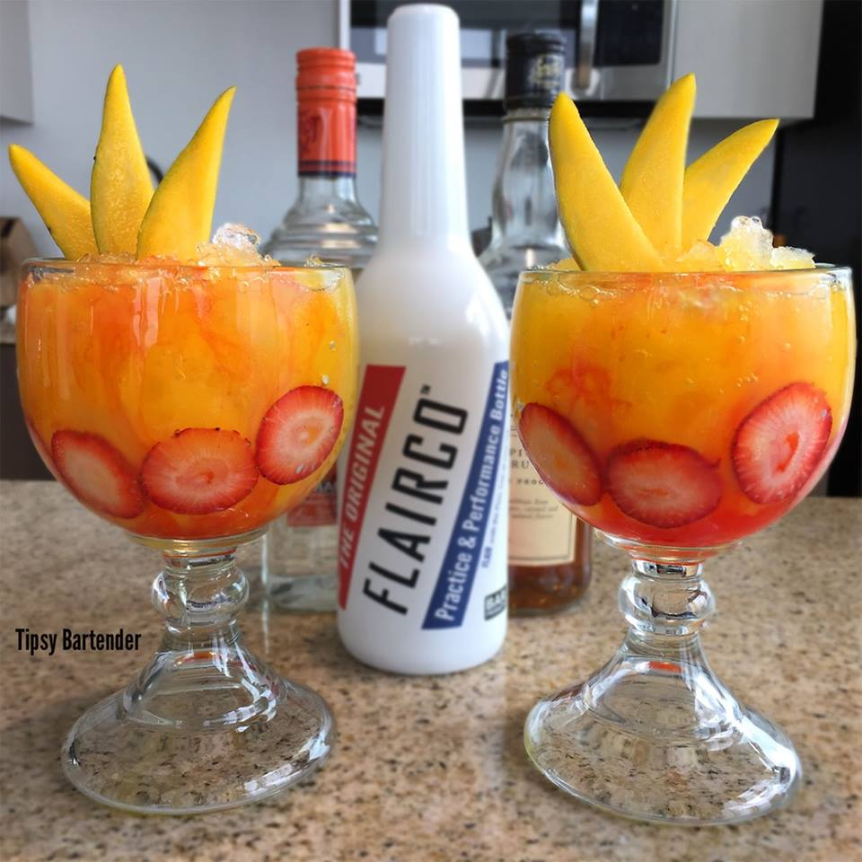 Mango Mai Tai Cocktail