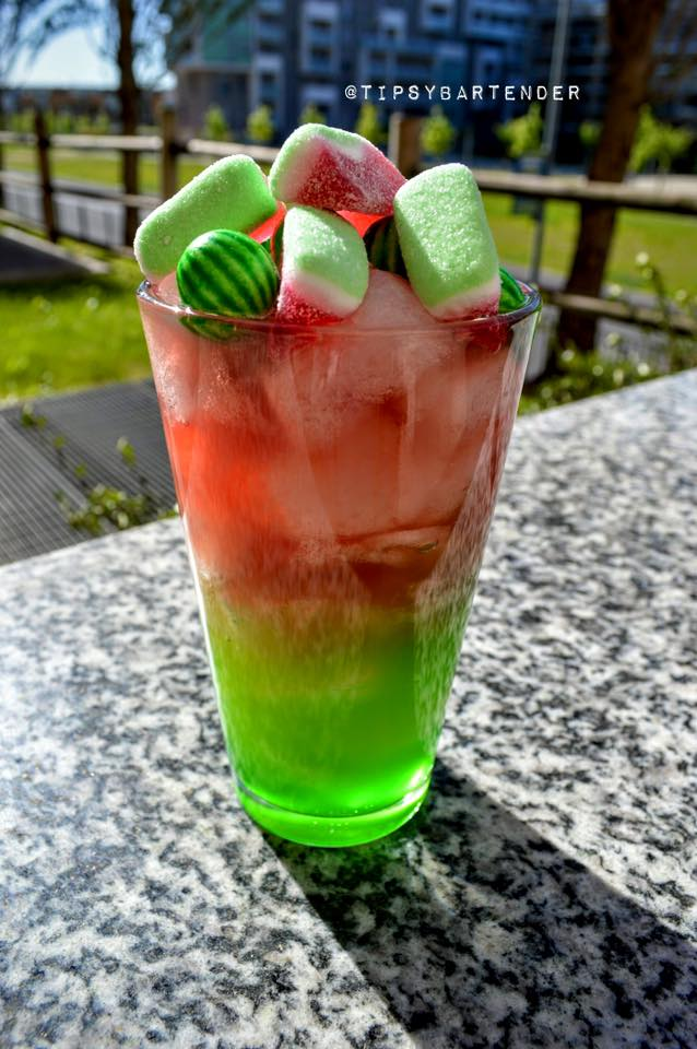 Watermelon Island Cocktail