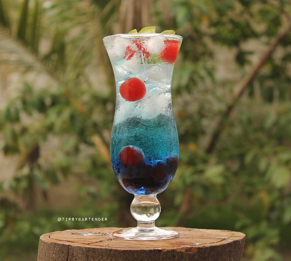 Deep Blue Cocktail