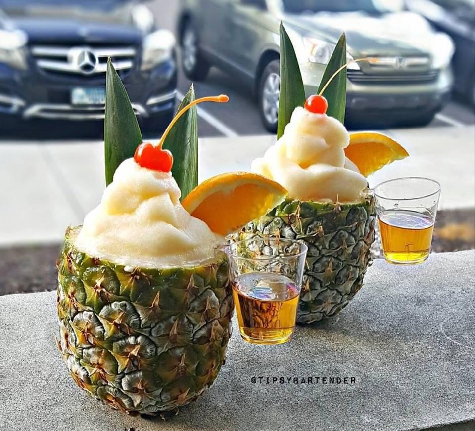 Poolside Pineapple Cocktail