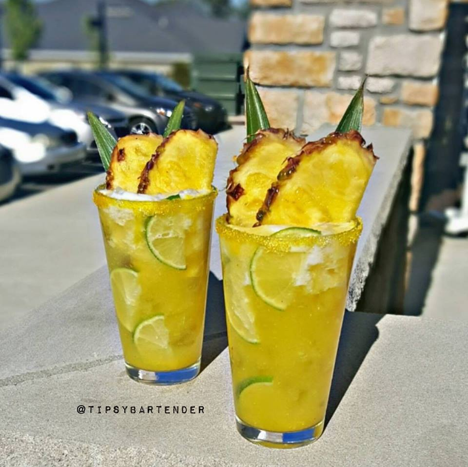 Summer Pineapple Margarita