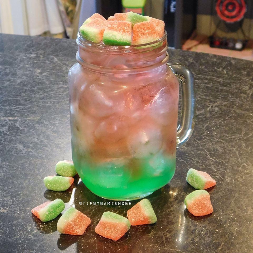 Watermelon Blast Cocktail