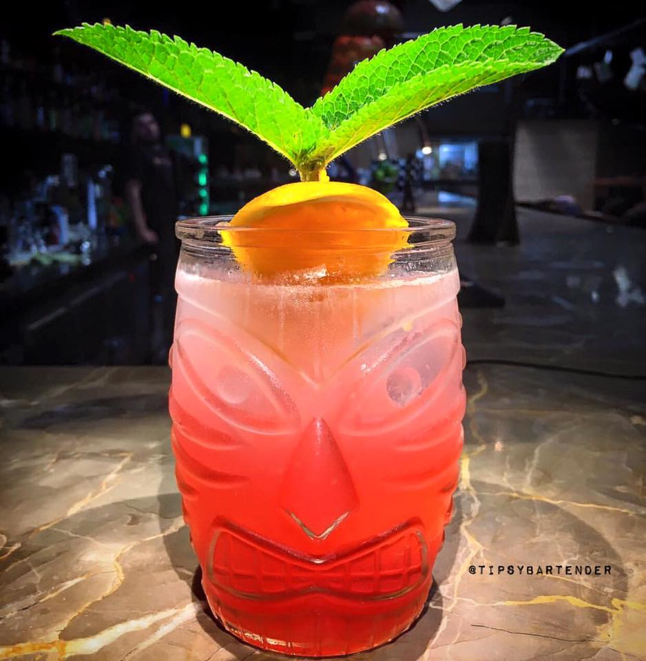 Angry Indian Cocktail