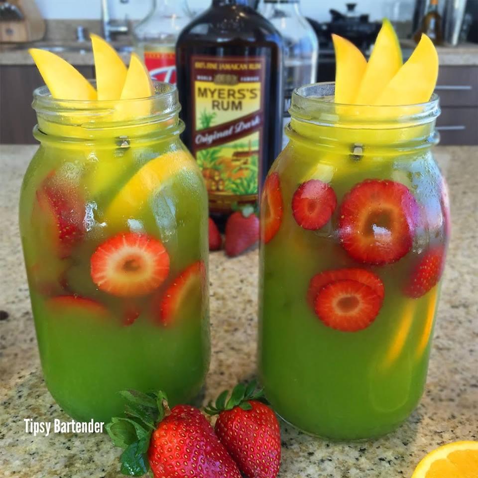 Green Mango Mai Tai Cocktail
