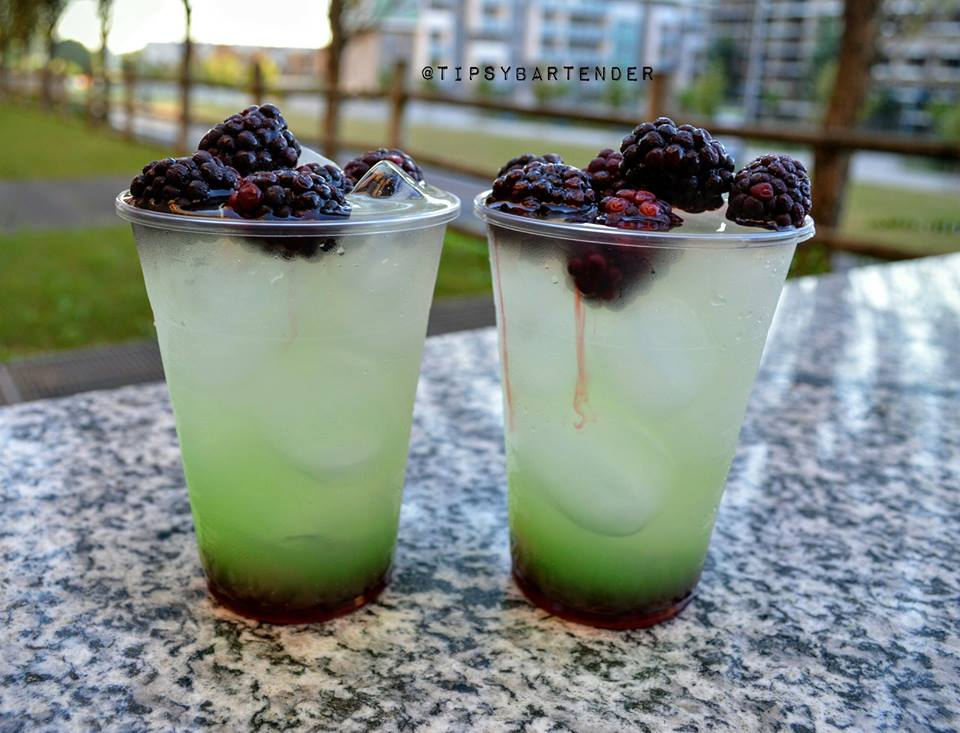 Summer Meteor Cocktail