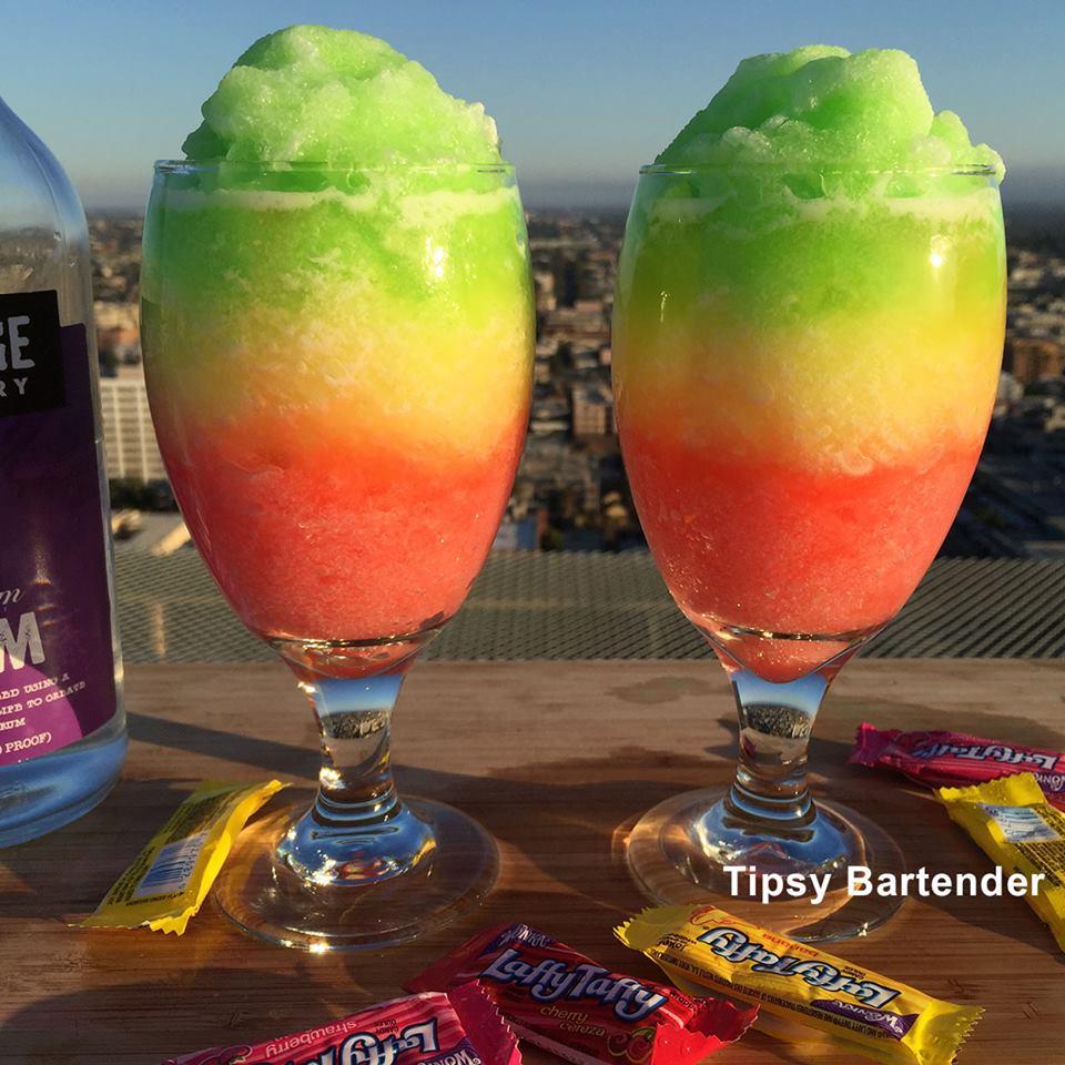 Laffy Taffy Daiquiri Cocktail