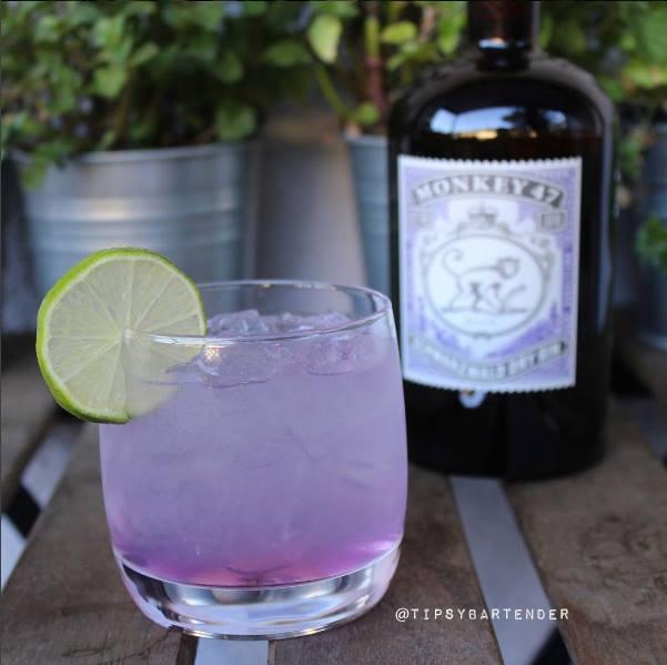 Floral Fizz Cocktail