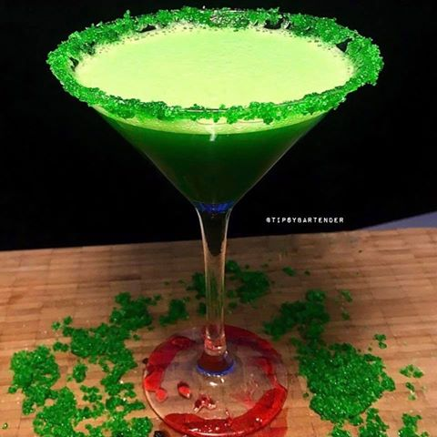 The Green Monster Cocktail