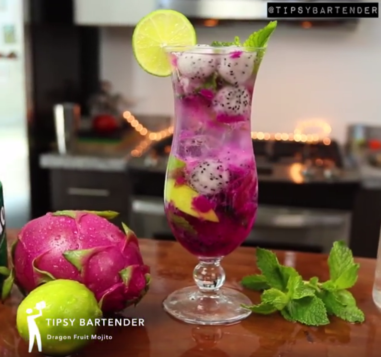 The Dragon Fruit Mojito