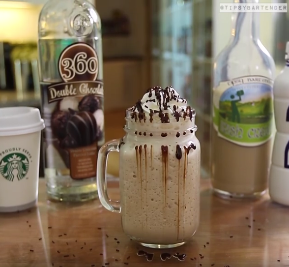 Spiked Mocha Frappuccino